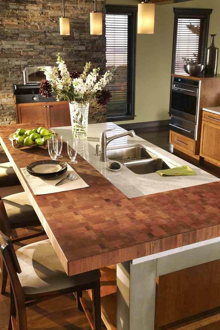 Butcher block countertops? ? Design Indulgences
