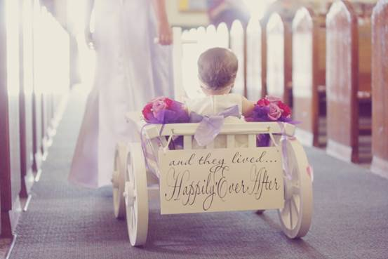 Tiny Tot Thursday: babies in weddings – Design Indulgences