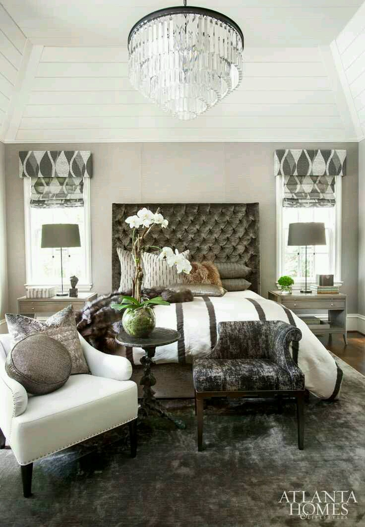 A calming sophisticated home by smithboyd interiors for Sophisticated feminine bedroom designs