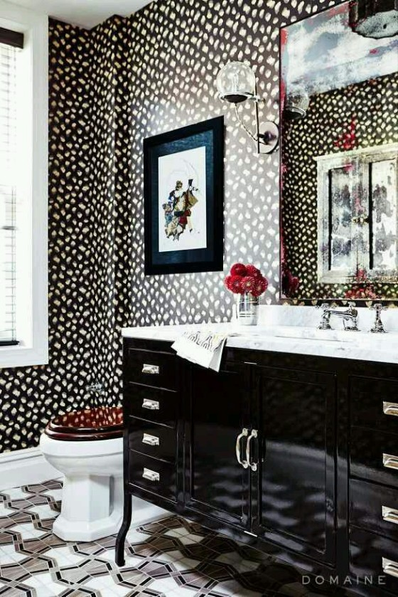 be bold with wallpaper - photo #25