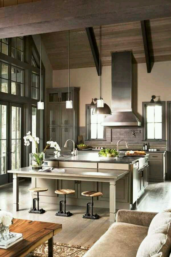 Kitchen Room Interior Design: Modern Rustic Interiors And Events…