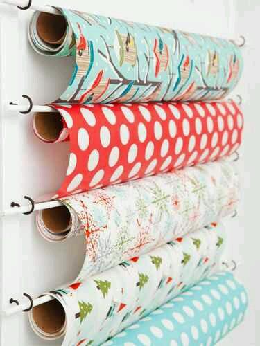 Tuesday S Tips Gift Wrap Storage Ideas Design Indulgences