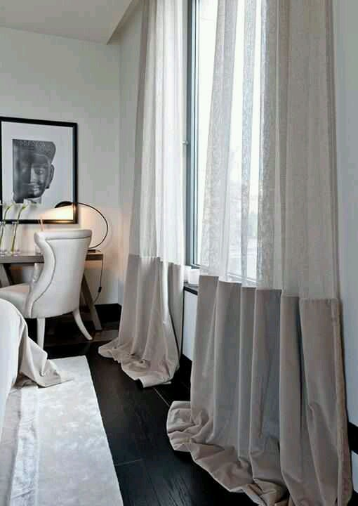 Romantic Window Drapery Design Indulgences
