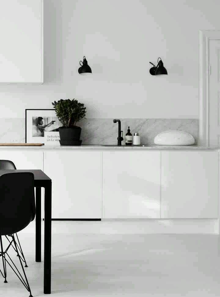 image. Sleek black matte faucets and fixtures     Design Indulgences