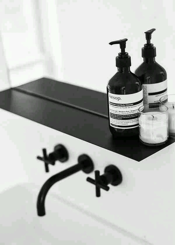 Sleek Black Matte Faucets And Fixtures Design Indulgences