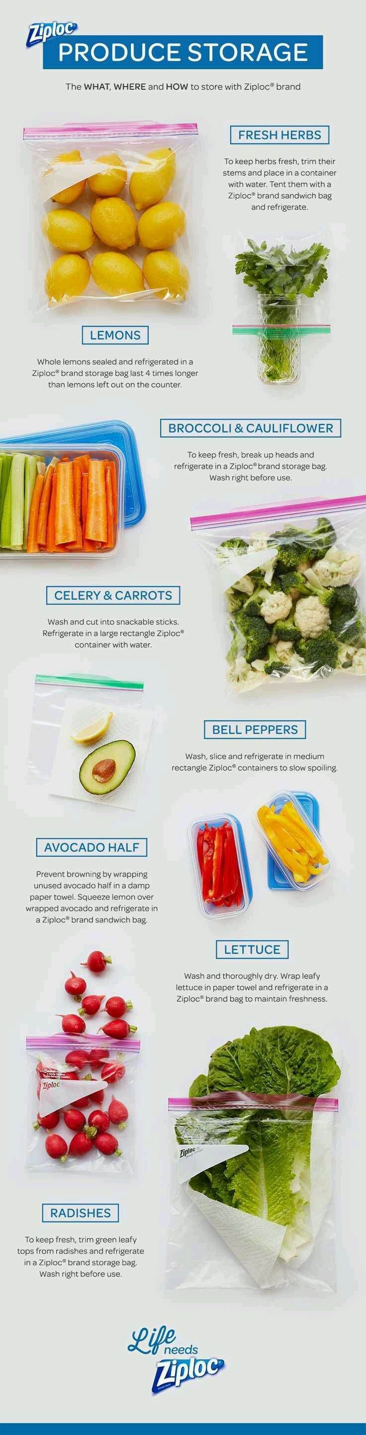 Tuesday S Tips Save Money With These Produce Storage Tips