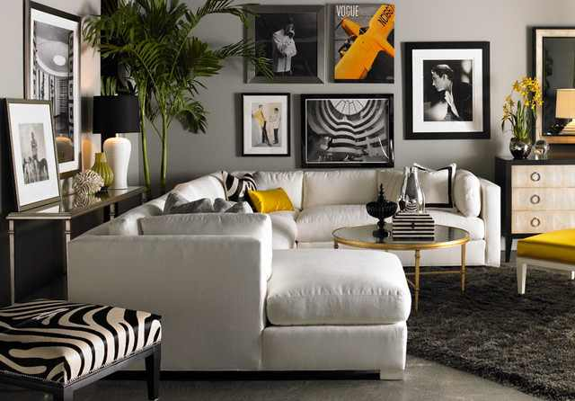 image  There is a showroom furniture store. Warren Barnett Local Home Furnishing Store    Design Indulgences