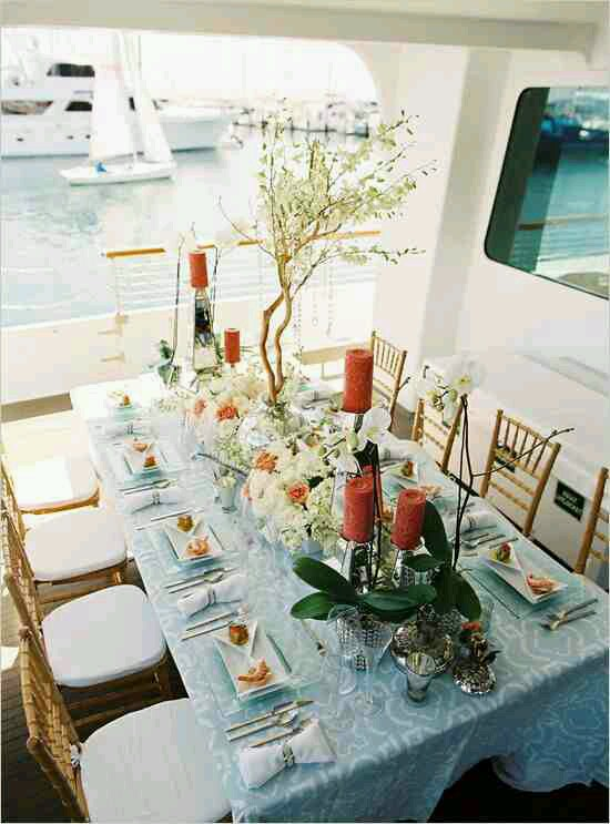 Yacht And Boat Wedding Decorating Ideas…