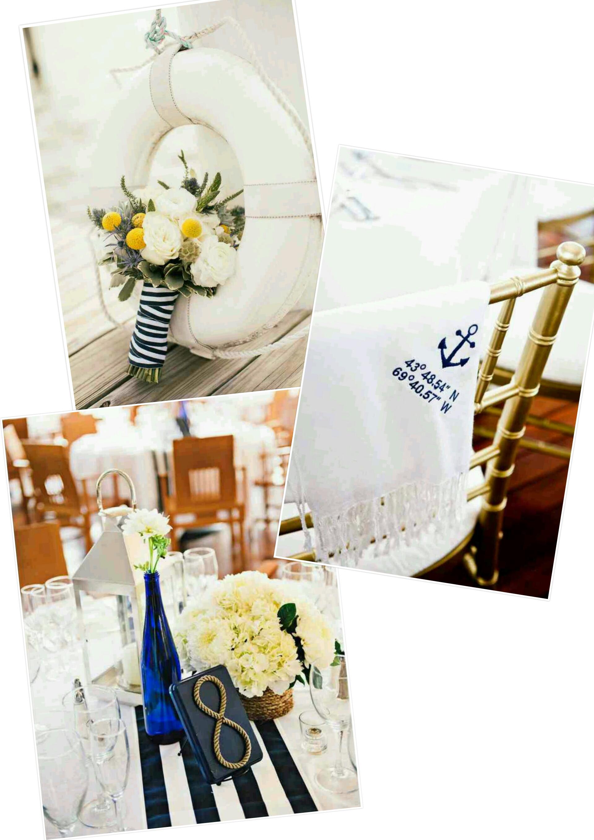 Yacht and boat wedding decorating ideas… – Design Indulgences