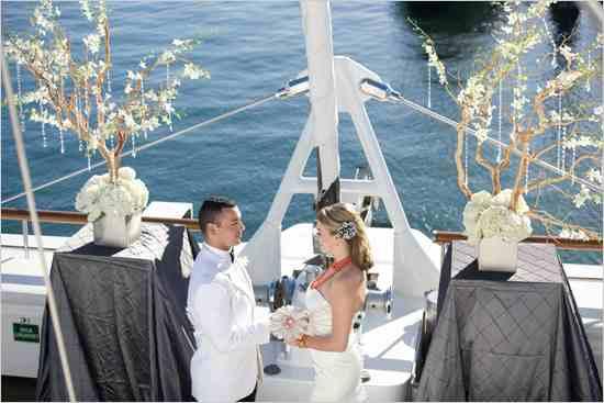 Yacht and boat wedding decorating ideas Design Indulgences
