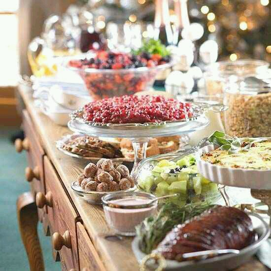 Birthday Table Presentation: Thanksgiving Table And Food Display Ideas…